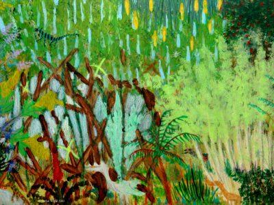Landschaft von Oxtornia in Cartwheel