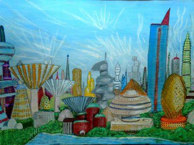 Skyline von Paxus City (C) Stefan Wepil