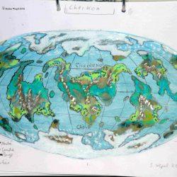 Weltkarte von Cherkos (C) Stefan Wepil