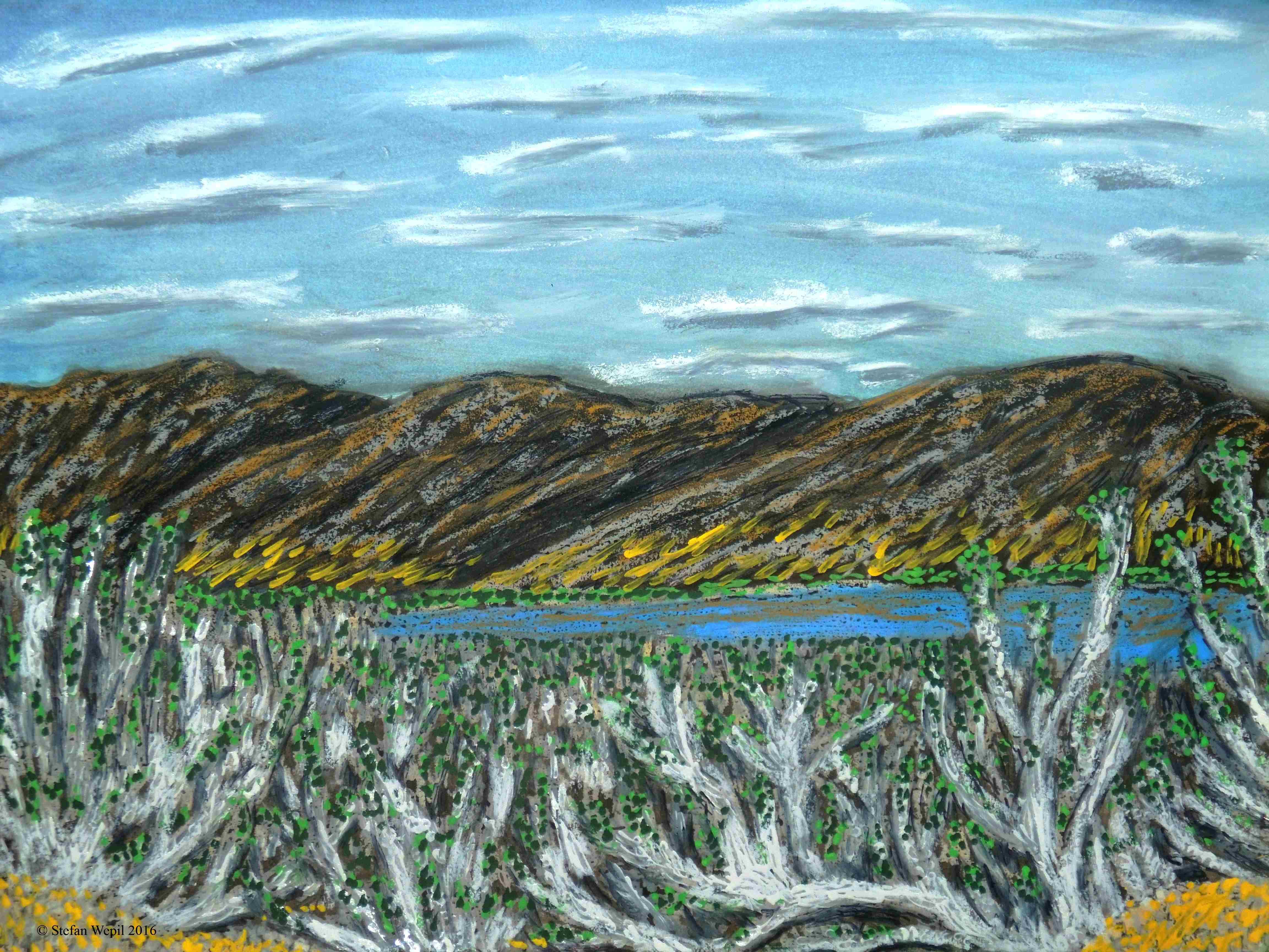 Landschaft von Cherkos (C) Stefan Wepil