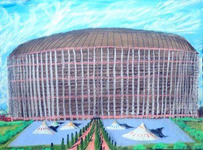 Die große Arena in Dom auf Dorgon. (C) Stefan Wepil