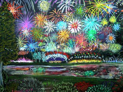 Ein kaiserliches Feuerwerk in Dom (C) Stefan Wepil