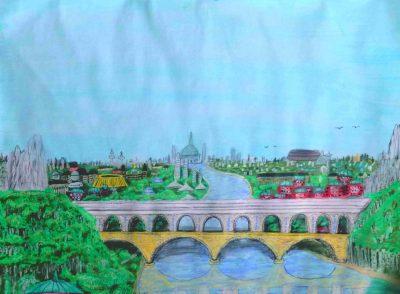 Die Savorio-Brücke von Dom (C) Stefan Wepil