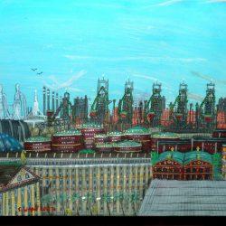 Die Hendrosa-Stahlwerke von Mal auf Dorgon (C) Stefan Wepil