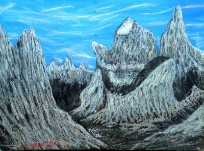 Der Berg Kavit auf Dorgon (C) Stefan Wepil