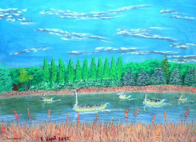 Der Tibusfluss auf Dogon (C) Stefan Wepil