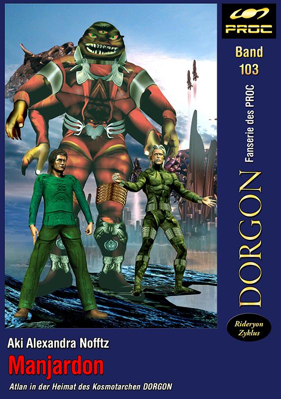 Cover zu DORGON 103 - Manjardon. © John Buurman