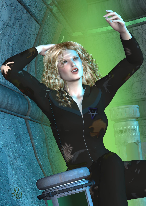 Myrielle Gatto im Untergrund (C) Gaby Hylla
